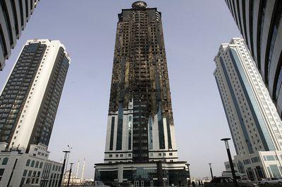 После ликвидации пожара в гостиничном комплексе в грозном кадыров заявил о намерениях построить еще один