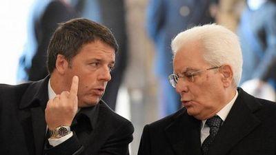 Президент италии не отпустил в отставку премьера маттео ренци