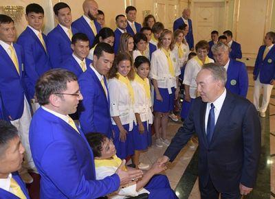 Президент казахстана дал напутствие спортсменам-олимпийцам