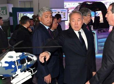 Президент казахстана посетил международную выставку kadex-2016