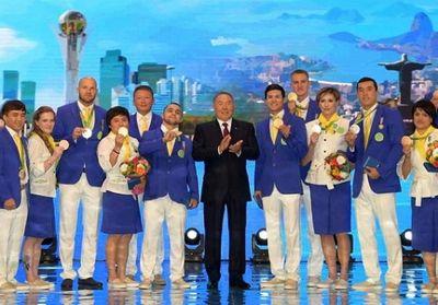 Президент казахстана поздравил чемпионов и призеров олимпиады в рио