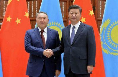 Президент казахстана встретился с председателем китайской народной республики