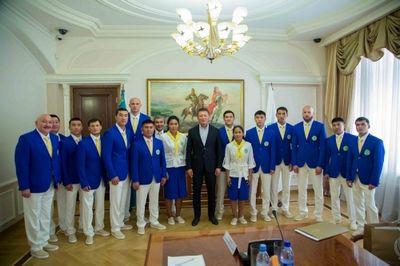 Президент нок рк и министр культуры и спорта встретились с олимпийцами