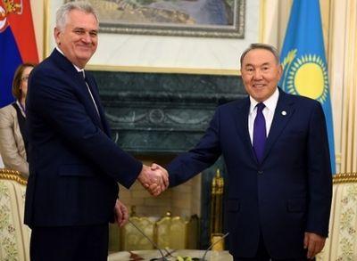 Президенты казахстана и сербии подписали соглашения об усилении сотрудничества