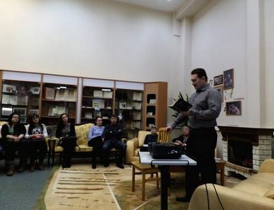 Проект встреча у камина стартовал в нижневартовске