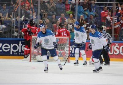Сборная казахстана по хоккею победила швейцарию в первом матче чм