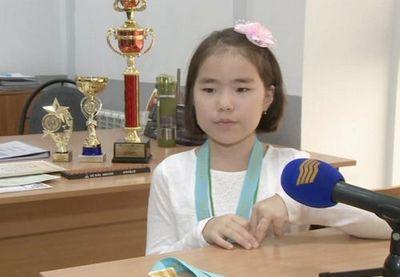 Семилетняя казахстанка победила на соревнованиях по ментальной арифметике в дубае