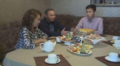 Семья из караганды пригласила в гости президента страны