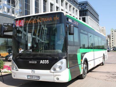 Схемы движения маршрутов автобусов в астане будут временно изменены 4 сентября