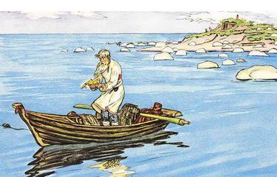 Сказка о рыбаках и рыбе