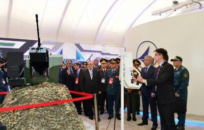 События первого дня международной выставки «kadex-2016» в астане