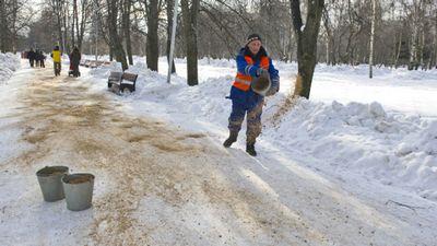 Соль, песок и камень: как борются со снегом в россии и мире - «общество»