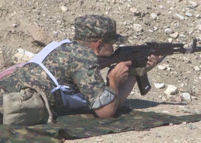 Соревнования по пулевой стрельбе из штатного оружия состоялись в актау