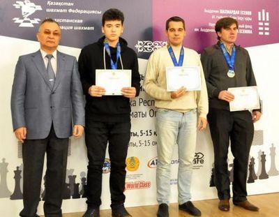 Стали известны победители шахматного турнира almaty open-2016