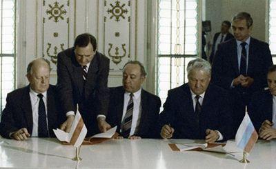 Станислав шушкевич: у меня была чернильная ручка, которой я с удовольствием все это подписал - «наука»