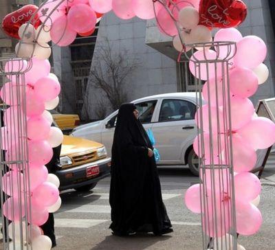 Столица отмечает день святого валентина