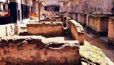 Строители метро в риме нашли античную казарму
