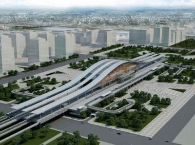 Строительство железнодорожного вокзала в астане завершат в марте