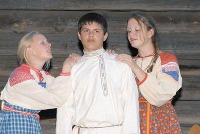 Театр балагуры родился в деревне