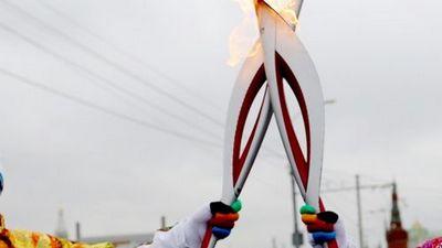 Тюмень встречает олимпийский огонь