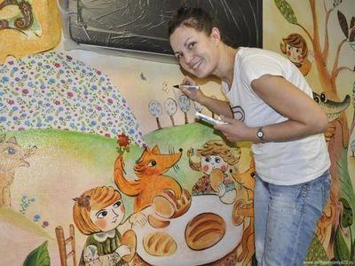 Тюменские художники оформили детское отделение федерального центра нейрохирургии
