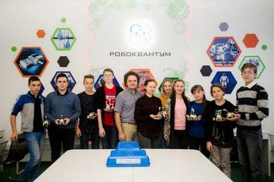 Тюменские школьники на каникулах знакомятся с работой кванториума