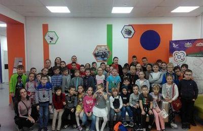 Тюменский кванториум и еврошкола провели совместный каникулярный проект