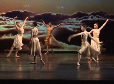 Труппа «астана балет» выступила на сцене мариинского театра