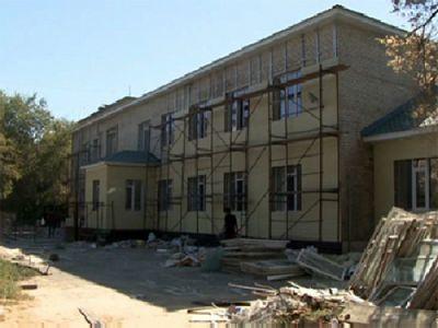 В актюбинской области приводят в порядок старые школы