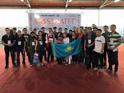 В бразилии казахстанские школьники стали победителями конкурса научных работ