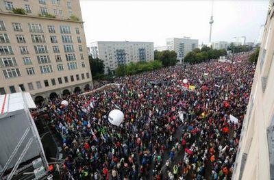 В брюсселе протестовали против соглашений ес с канадой и сша