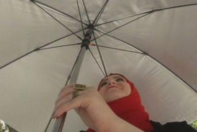 В египте успешно испытали зонт на солнечных батареях