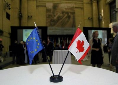 В ес еще надеются подписать торговый договор с канадой