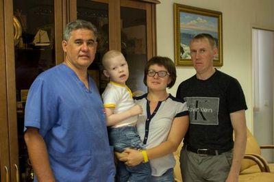 В фцн помогли малышу, от которого отказались ведущие российские клиники
