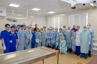 В фцн тюмени прошел уникальный курс по хирургии лицевого нерва