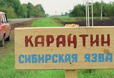 В карагандинской области снят карантин по сибирской язве