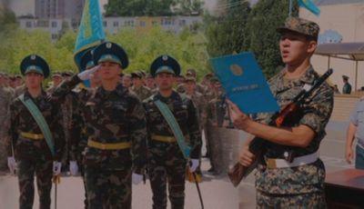 В одной из воинских частей кокшетау прошел день открытых дверей