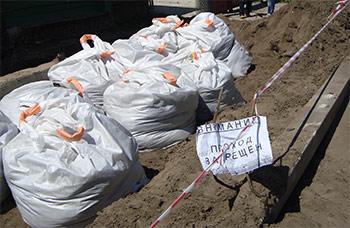 В орехово-зуевском районе почти месяц ликвидуют последствия разлива формальдегида