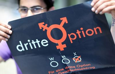 В свидетельствах о рождении граждан фрг появится третий пол - «общество»