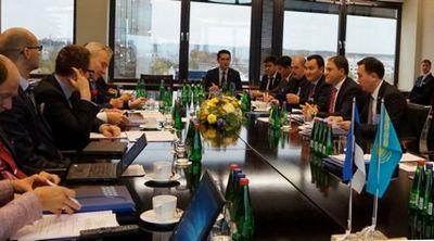 В таллине прошло заседание казахстанско-эстонской межправительственной комиссии