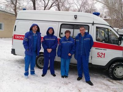 В тюменском районе первая сельская подстанция скорой помощи отмечает юбилей