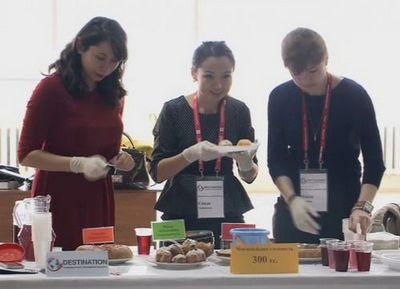 В уральске состоялся благотворительный яблочный фестиваль
