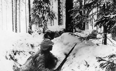 В зимней войне принимал участие финский штрафной батальон, в котором сражались заключенные - «наука»