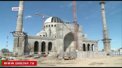 Вчечне строится мечеть вчесть рамзана кадырова - «общество»