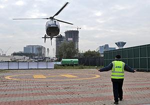 Вертолетное такси готовится к стремительному росту в столичном регионе