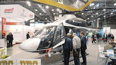 Вертолётостроение: что новенького?удушение продолжается