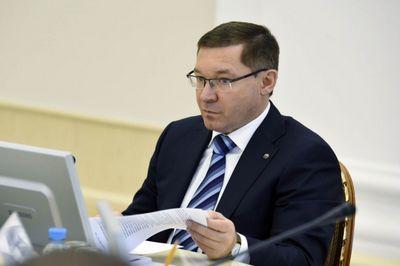 Владимир якушев участвует в заседании госсовета рф