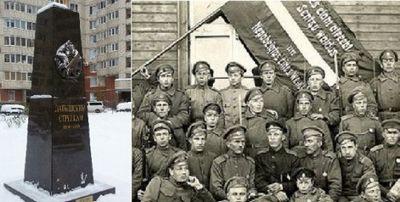 Впетербурге неожиданно воздвигли памятник латышским стрелкам — общество. новости, новости россии — eadaily - «общество»